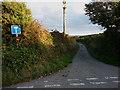 SW6127 : Dead end to Tregunno Farm by Richard Law