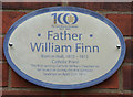 Photo of William Finn white plaque
