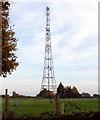 TG2502 : Radar tower, Upper Stoke by Evelyn Simak