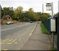 SO8402 : Woodchester bus stop by Jaggery