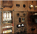 TG2502 : RAF Stoke Holy Cross - the receiver block (interior) by Evelyn Simak