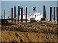 TA1128 : Piling at Alexandra Dock, Hull : Week 45
