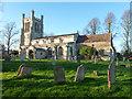 TL4052 : Haslingfield church by Robin Webster