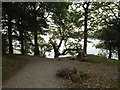 SD3996 : Path at Cockshott Point, Bowness-on-Windermere by Malc McDonald