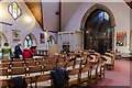 SK9272 : Interior, St Lawrence's church, Skellingthorpe by Julian P Guffogg