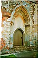 TL2138 : South door of St Guthlac's Church by Tiger