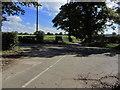 SJ8060 : Crossroads NE of Smallwood by Colin Park