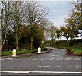 SJ8104 : Minor road to Humphreston north of Albrighton by Jaggery