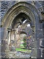 SD7336 : Whalley Abbey: cloister windows by Stephen Craven