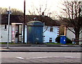 ST3388 : Grade II listed former police telephone box, Somerton, Newport by Jaggery