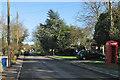 TL6149 : West Wickham High Street by John Sutton