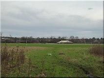 SJ8851 : Playing field at Bradeley by Jonathan Hutchins