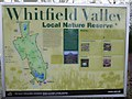 SJ8850 : Whitfield Valley LNR information board by Jonathan Hutchins
