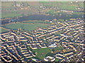 ST6468 : West Keynsham from the air by M J Richardson