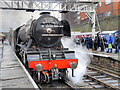 SD8010 : Flying Scotsman Test Running at Bolton Street Station January 2016 by David Dixon