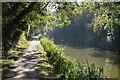SU4167 : Towpath, Kennet & Avon Canal by N Chadwick