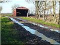 TL4972 : Grange Farm near Stretham Ferry Bridge by Richard Humphrey