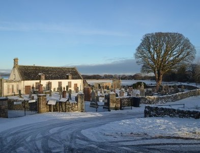 NH7184 : Old Edderton Church, Ross-shire by Andrew Tryon
