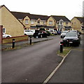 SO8006 : Traffic calming in Arrowsmith Drive, Stonehouse by Jaggery