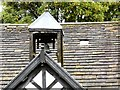 SJ8898 : Clayton Hall bell cote by Gerald England