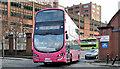 J3373 : Metro bus, Glengall Street, Belfast (January 2016) by Albert Bridge