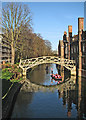 TL4458 : Bank collapse and The Mathematical Bridge by John Sutton