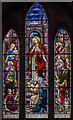 TF1134 : Stained glass window, St Andrew's church, Billingborough by Julian P Guffogg