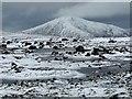 NN1696 : Frozen lochan, Meall Doir' an Daimh, Inverness-shire : Week 6 winner