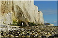 TV5397 : Natural Arch on the cliffs of the Seven Sisters, East Sussex : Week 7