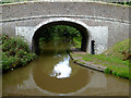 SJ6641 : Spinks Bridge south of Audlem, Cheshire by Roger  Kidd