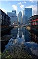 TQ3780 : Canary Wharf by Julian Osley