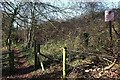 ST7361 : Footpath past Fosseway Environment Park by Derek Harper