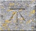 ST7367 : Ordnance Survey Cut Mark by Adrian Dust