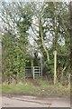 ST6761 : Footpath near Priest Barrow by Derek Harper