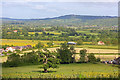 SO8819 : View from Churchdown by Wayland Smith