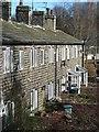 SE0936 : Mill cottages, Wilsden by Gordon Hatton