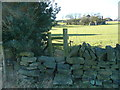 SE0321 : Stile on the footpath from Bowood Lane to Mill Bank Road, Sowerby by Humphrey Bolton