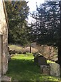 ST7469 : Graveyard of St Mary Magdalene Church by Virginia Knight