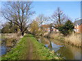 TL1439 : River Flit (former Ivel Navigation), Shefford by Robin Webster