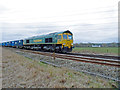 SJ7782 : Freightliner at speed by Anthony O'Neil