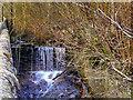 SD6811 : Small Waterfall on Dean Brook at Barrow Bridge by David Dixon