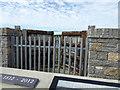 SH4068 : Tidal Doors, Malltraeth Cob by Eirian Evans