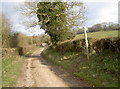 ST7069 : Byway above the farm by Neil Owen