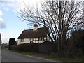 SP6312 : Cottage on Bicester Road, Oakley by David Howard