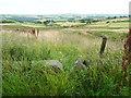 SE0122 : Stile on footpath at Delfs Lane, Sowerby by Humphrey Bolton