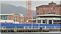 J3474 : CQ2, City Quays, Belfast - March 2016(2) by Albert Bridge