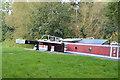 SU6269 : Narrowboat, Tylemill Lock by N Chadwick