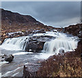NG9546 : Waterfall on the Fionn-abhainn : Week 12