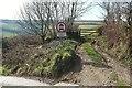 SX2058 : Track towards Pendriscott by Derek Harper