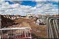 SP2754 : Storage yard on Ettington Park Estate by David P Howard